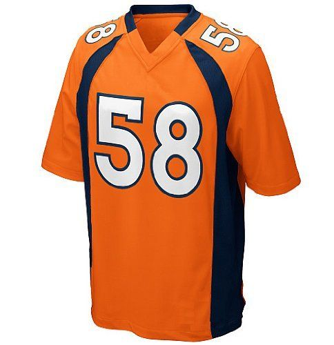 Miller Jersey Denver Broncos Von Miller Color Orangr Elite Jerseys (52(XXL)) by NFL. $58.99. Thank you for coming to our store, We store the name: 1st DOING, our shipping options : DHL, more quickly let you receive the goods, the goods we will inform you, let you know timely tracking ship,  In the us fill the tracking number, need to query the friend please to DHL trace waybill number, you have any questions please tell us in time, when you received the goods, please pr...