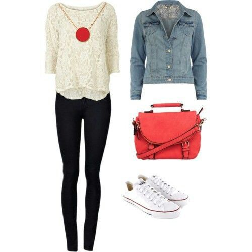 cute converse outfit my style pinterest lazy days