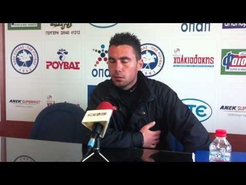 Ο προπονητης της ομαδας του Ρούβα Αλέκος Κούρδογλου μίλησε στην web tv του prismasport.gr μετα το τέλος της αναμέτρησης κόντρα στην Γλυφάδα