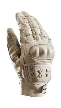 Tactical gloves feature a Clarino synthetic palm that's stronger, lighter, washable, and retains its softness when wet, unlike natural leather. Elastic and velcro wrist closure ensures a comfortable fit.