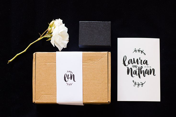 Laura & Nathan   Wanaka Wedding Custom Lettering   Brave + Brogue