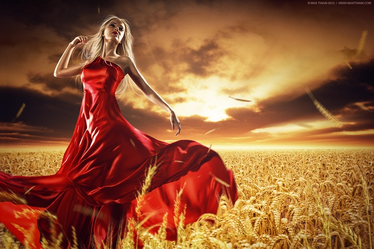 """© Max Twain"" by Max Twain, via 500px.: Red Dresses, Color, Art Photography, Max Twain, Vestidos Rojo, Maxtwain, Fashion Photography, Photography Ideas, Golden Hour"