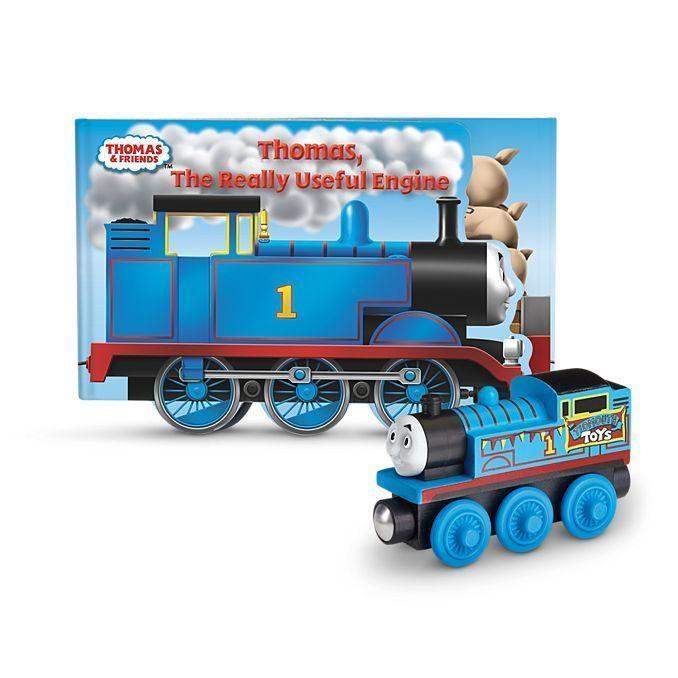 REALLY USEFUL ENGINE BOOK PACK Thomas & Friends Wooden Railway NEW IN BOX Train #ebay #thomasthetank #thomasbookset