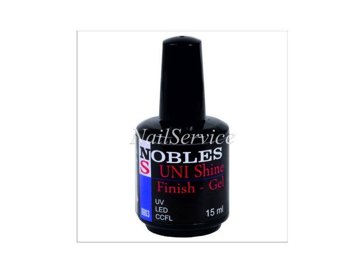 UV/LED UNI Shine s výpotkem 15ml. . Nejoblíbenější univerzální vrchní lesklý gel s výpotkem, hustější konzistenze.Perfektní pro různe techniky zdobení - malování akvarelem, akrylovými barvami, přikrytí různých ozdob, nálepek, kamínků, folií a...