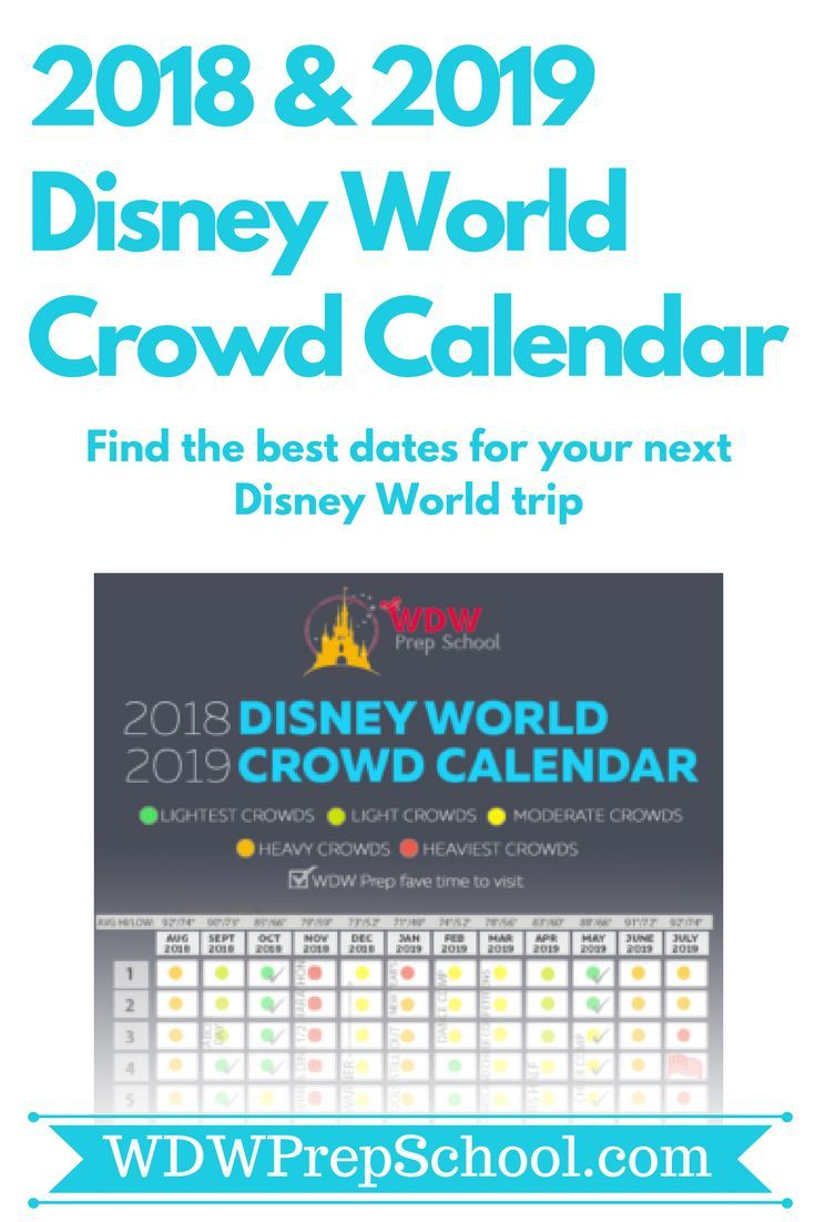 Trying To Find The Best Time To Plan A Disney World Trip Check