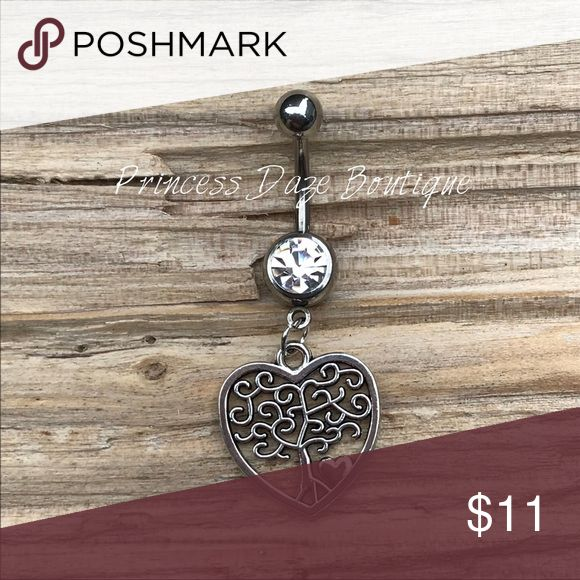 Silber Herz Baum des Lebens Bauchnabel Ring Bauchnabelpiercing Körperschmuck Materia …   – My Posh Picks