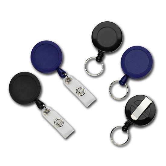 Yo-yos porte badge - Cartes et badges PVC, imprimantes à badges, contrôle d'accès, puce Mifare RFID