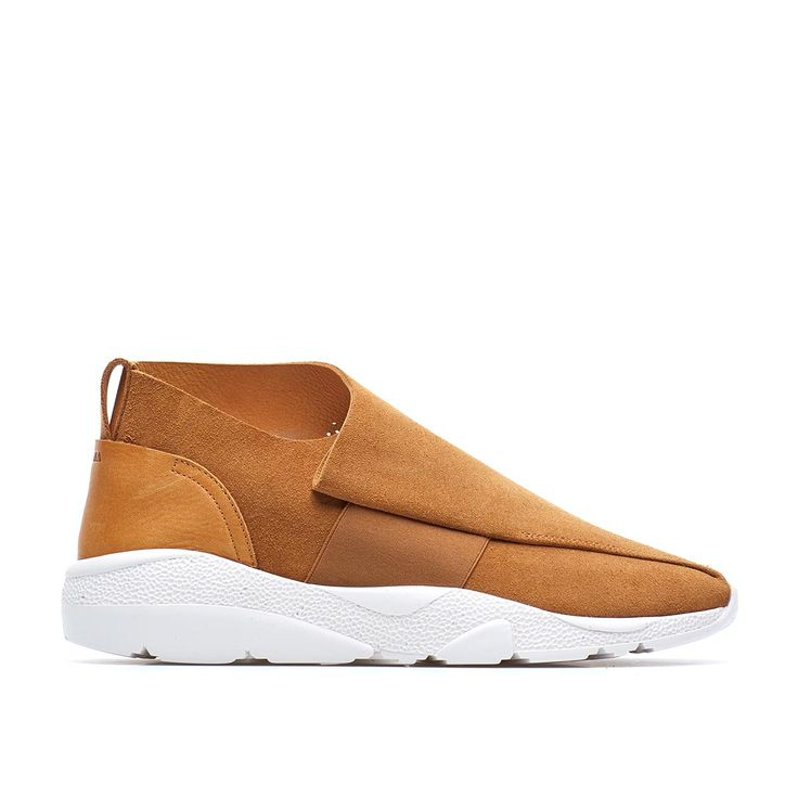 Vetta sneaker from the F/W2016-17 Casbia collection in hazel