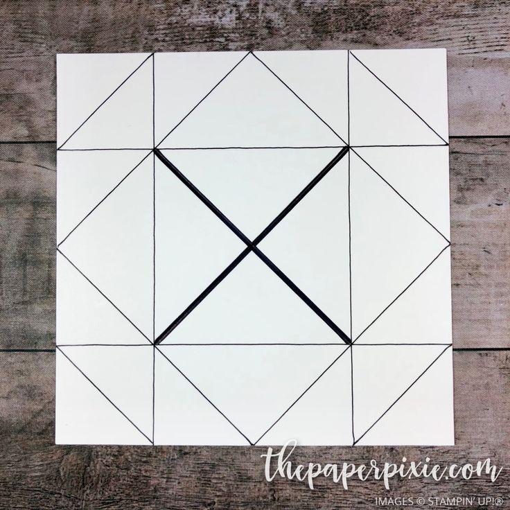 napkin fold card tutor - 736×736
