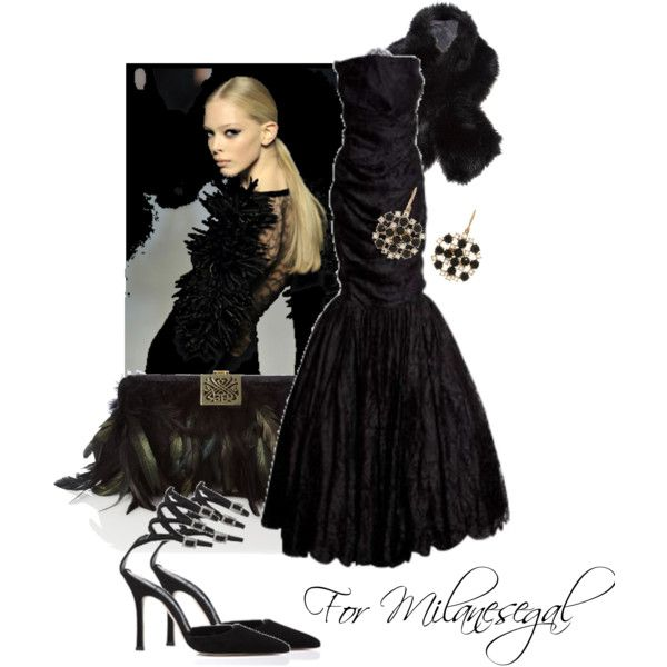 """For Milanesegal"" by moodycat on Polyvore"