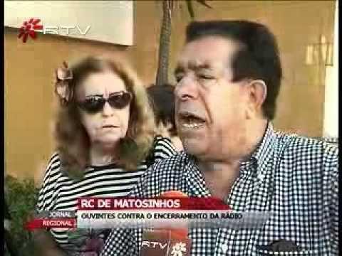 RADIO CLUBE MATOSINHOS - OUVINTES CONTRA O ENCERRAMENTO DA RÁDIO