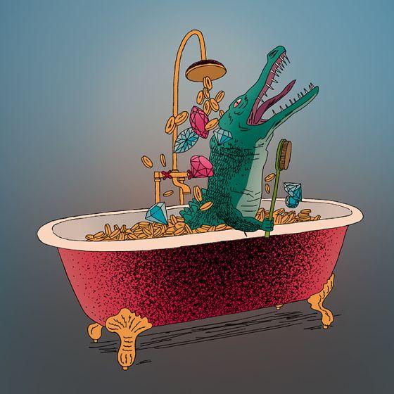 Illustration by Marko Turunen for Journalisti magazine, 2015