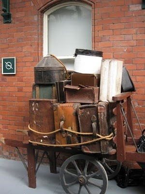 17 Best images about carts on Pinterest | Vintage suitcases ...