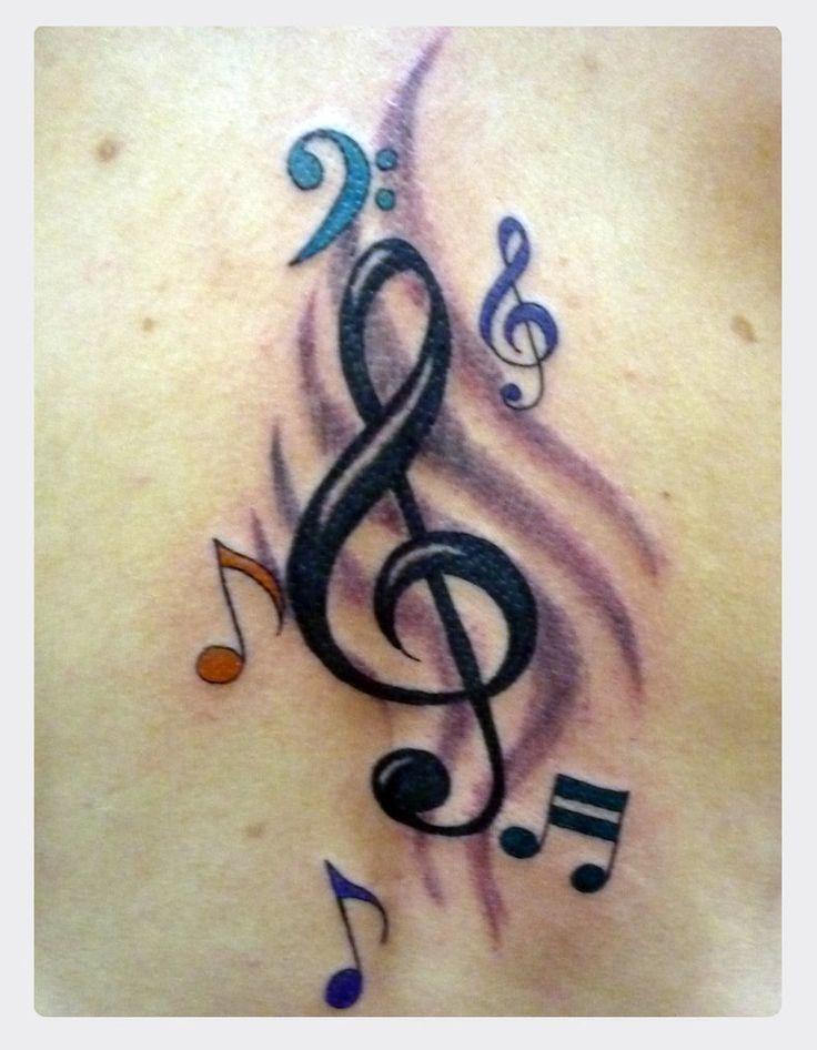Music Tattoo Designs For Men | music tattoo by ~jotatr3s on ...