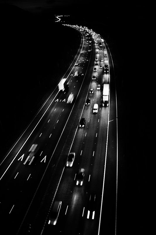 I love driving on the highway at night especially on long trips i think i need to go on a long long road trip with another friend who can drive me around
