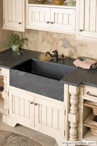 88 best cool natural stone kitchen sinks in granite, marble and