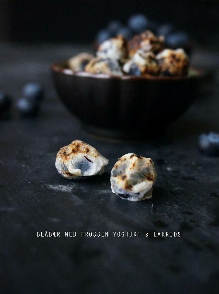 Blåbærsnacks med græsk yoghurt og lakrids - mit livs kogebog