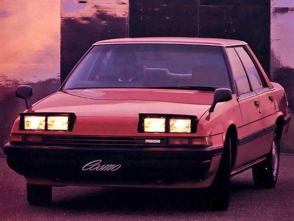 Mazda Cosmo 4-door Hard Top '1981–87