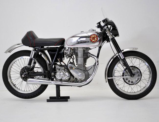 BSA Gold Star Clubman - the ultimate British racing single!