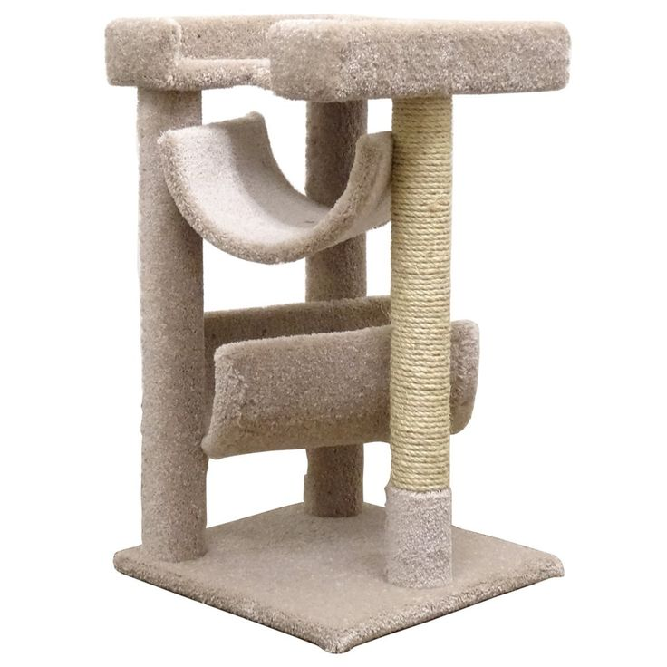 Cat Trees... Carpet Covered Works Of Art?