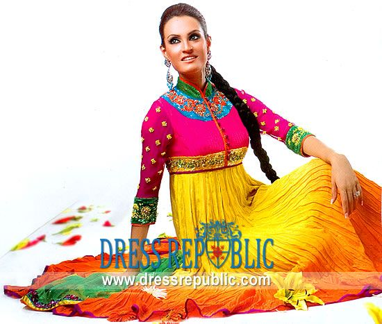 Mehndi Party Dress Code : Best mehndi dresses images on pinterest short wedding gowns bridal and