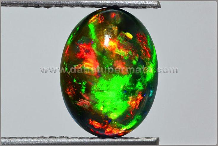 Sparkling Raibow Black OPAL Kalimaya - BOP 014