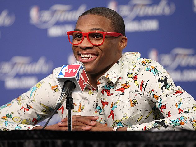 I like this man. His name is Russell. (Getty Images)