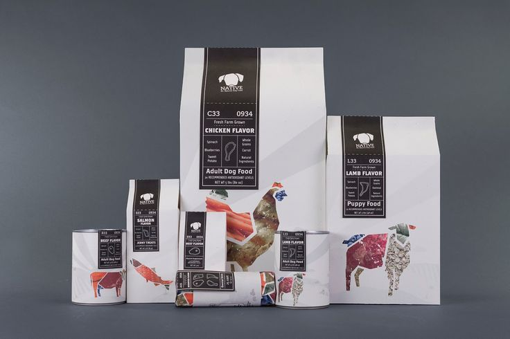 Native Pet Food (Student Project) on Packaging of the World PD