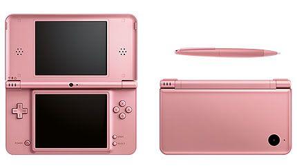 Metallic Rose Nintendo DSi XL