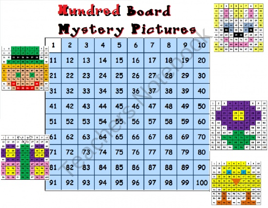 Hundred Boards for Spring product from Teacher-Helper on TeachersNotebook.com