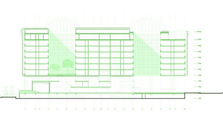 Gallery - City Municipal Office Complex / ECDM Architects - 2