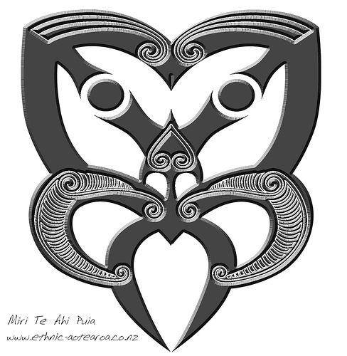 Maori Art - Hei Tiki Face