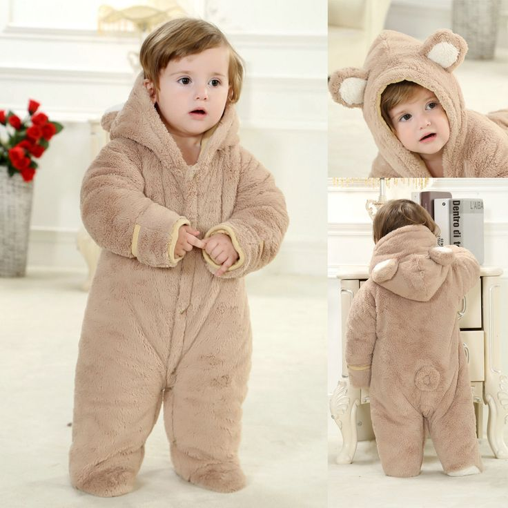 PajamasBuy - Brown Bear Baby Toddler Animal Onesies Pajamas Winter Kigurumi Costume, $27.95 (http://www.pajamasbuy.com/brown-bear-baby-toddler-animal-onesies-pajamas-winter-kigurumi-costume/)