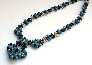 Náhrdelníky - Elegantný náhrdelník - 4841896_