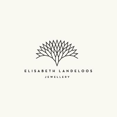 I like this logo, simple clean lines; however, I don't think that it fits with jewelery.
