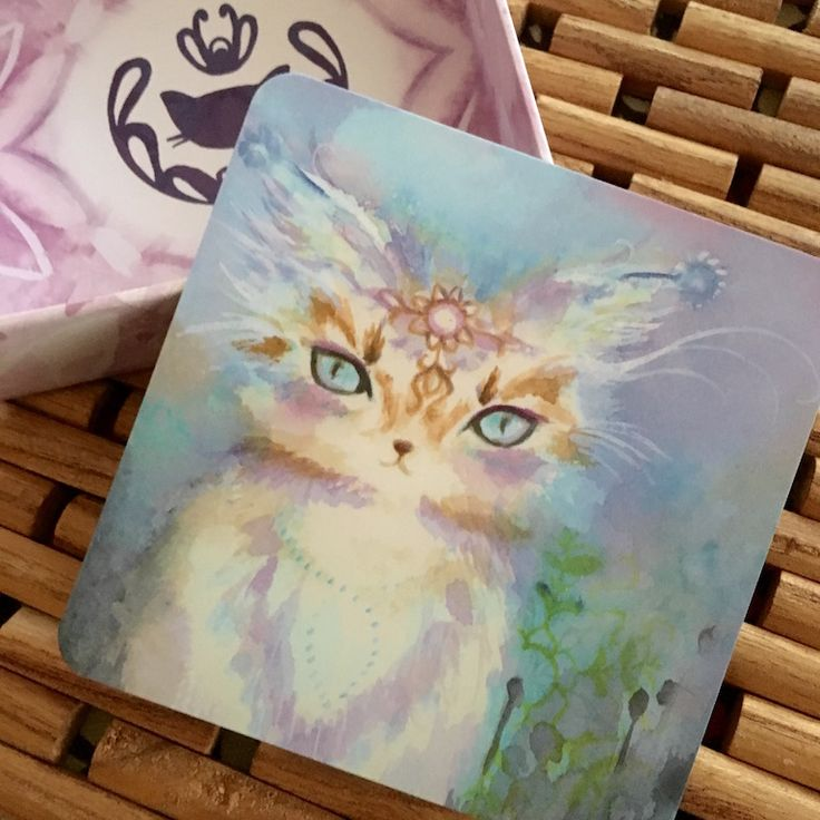 Spirit Cats Oracle Deck Phoenix & Lotus Oracle decks