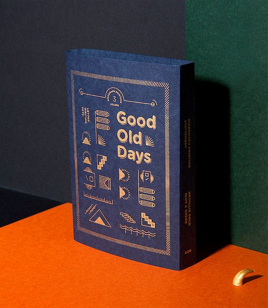 Good Old Days risograph printing letter writing sets