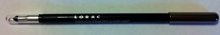 LORAC 3-in-1 Waterproof Eyeliner Pencil in 'Ultra Black'. Has been dot swatched once. Fully sanitized. RV $17
