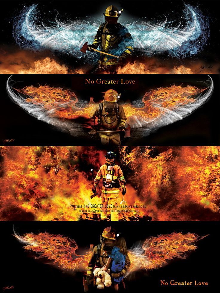 Get all four of the Huge 12x36 fireman prints for Just $60.00! Titles of the…