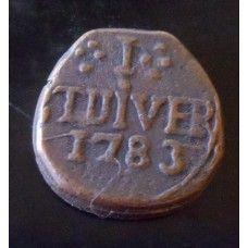 JAN VAN RIEBEECK - 1783 TUIVER COIN REPLICA