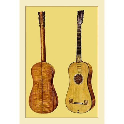 Buyenlarge Guitar by Antonius Stradivarius by Theodore Thomas Painting Print