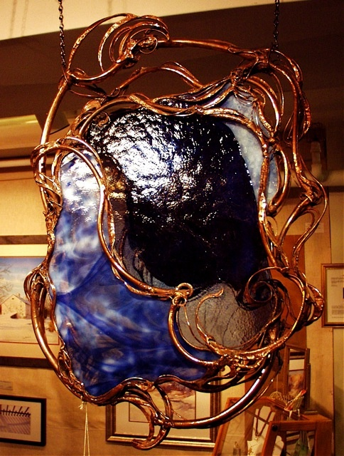 Copper Stained Glass