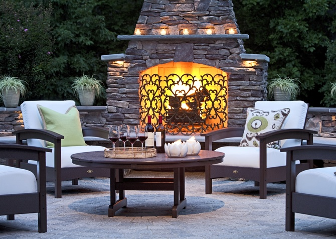 Outdoor Entertaining Space.