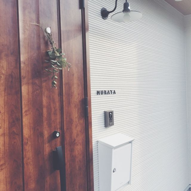 笠松電機/ブラバンシア/玄関/入り口のインテリア実例 - 2015-05-08 21:12:27 | RoomClip(ルームクリップ)