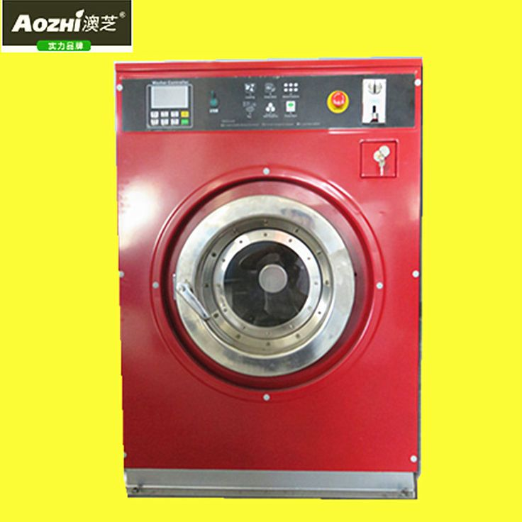 automatic coin washer for laundromat