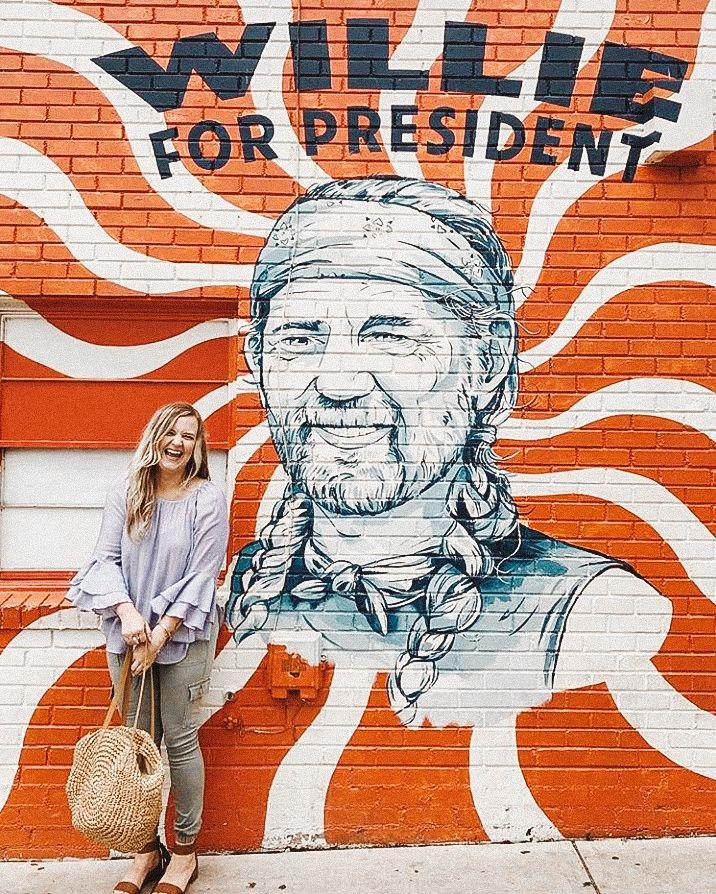 Austin Tx Wall Murals Galore Best Instagram Spots Tiffanie Anne Blog Wall Murals San Antonio Things To Do Mural
