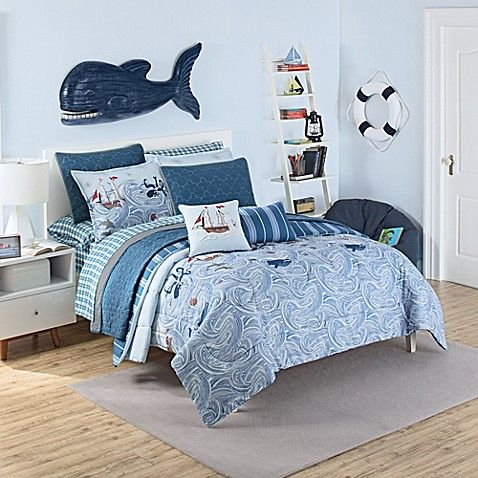 Waverly Kids Ride The Waves Comforter Set Kids Comforter Sets