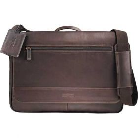 Promotional Products Ideas That Work: Kenneth Cole Colombian Leather Compu-Messenger. Get yours at www.luscangroup.com