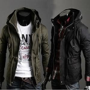 Mens Casual Vintage Jumper Jacket