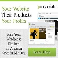 Prosociate is a powerful and flexible WordPress plugin for building your Amazon and Ebay affiliate sites.
